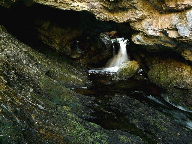 Upper Traligill cave