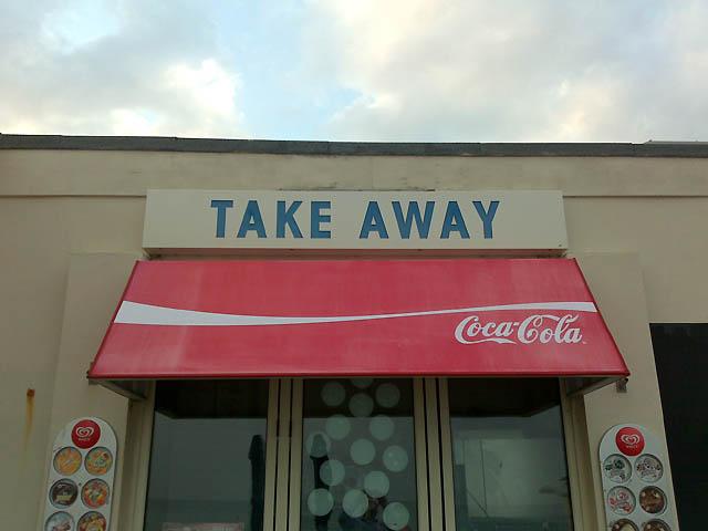 Take Away (Window and Awning)