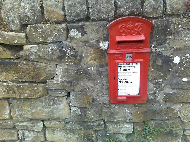 George VI Postbox, Carlton Lees