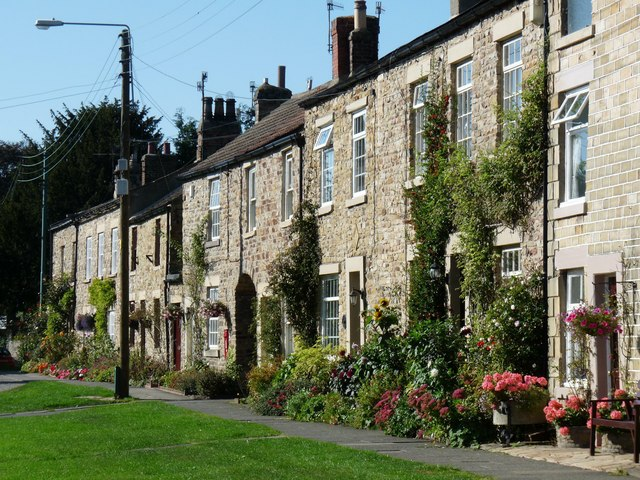 Cottages in Wolsingham, Weardale, County Durham