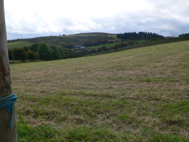 Farmland meets moorland