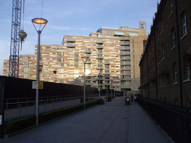 New flats, Gatliff Rd, London