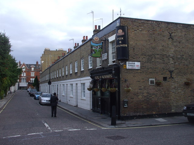 The Fox and Hounds, corner of Graham Tce and Passmore St, London