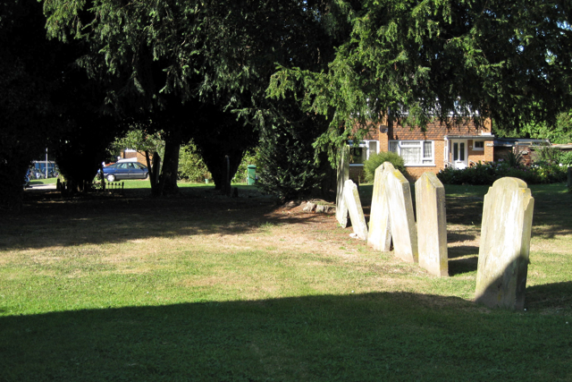 Lee Street burial ground, Mill Close, Horley