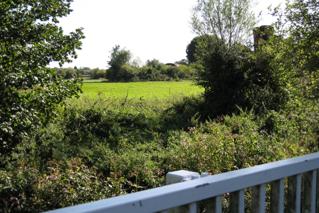 Farmland beside the River Mole, Horley