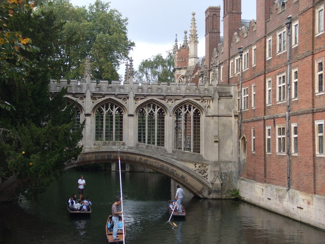 The Bridge of Sighs, St John's, Cambridge