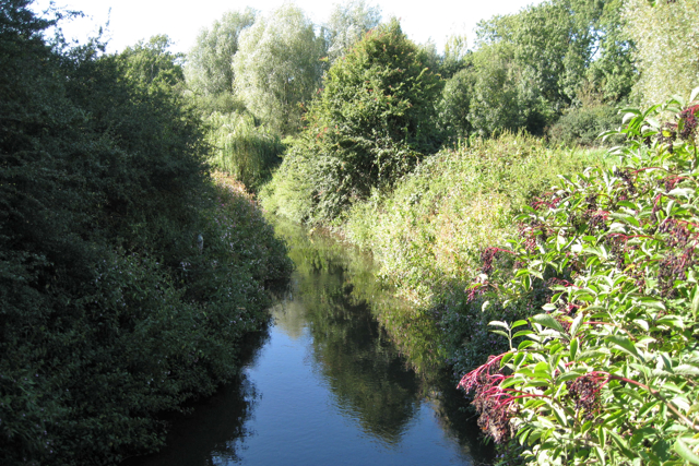 River Mole west of Horley