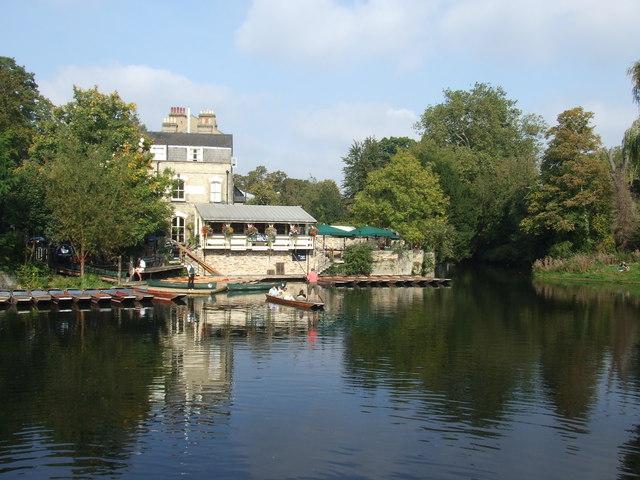 Across the water, Cambridge