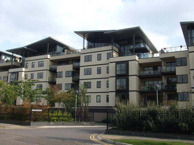 Riverside flats, Cambridge