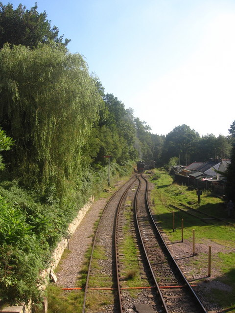 The Railway at Parkend