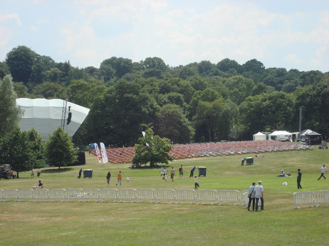 Temporary Stage in the grounds of Kenwood House