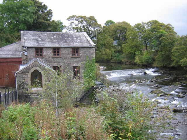 Mill on the River Lune