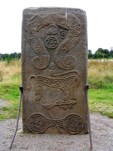 Pictish Stone at Brodie