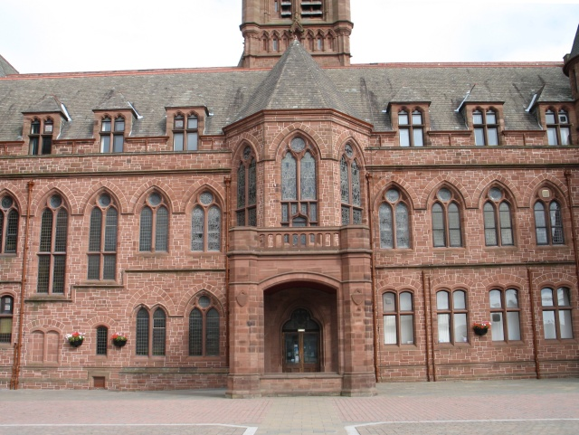 The Town Hall at Barrow-in-Furness