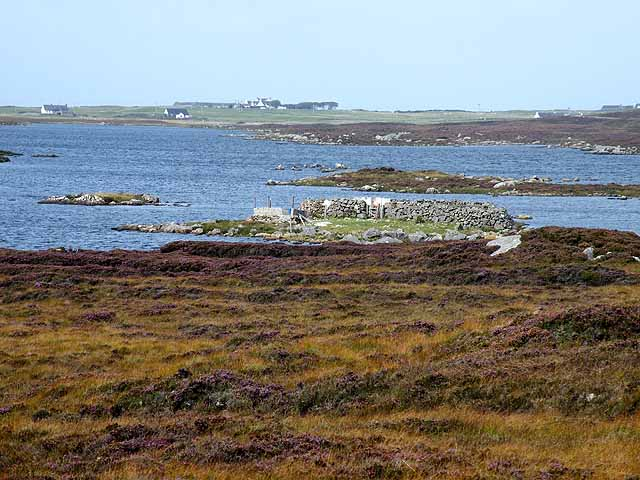 Sheepfold on Loch Druidibeag