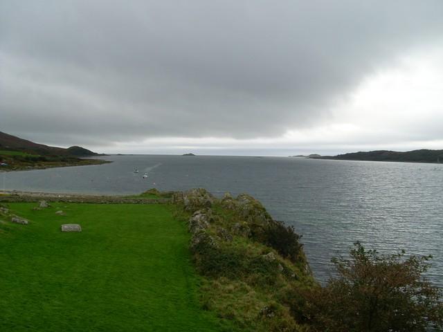Loch Sween from Castle Sween