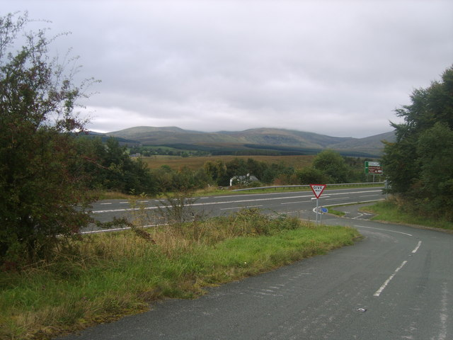 Approaching the A66