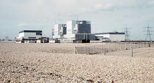 Dungeness power station in the sixties