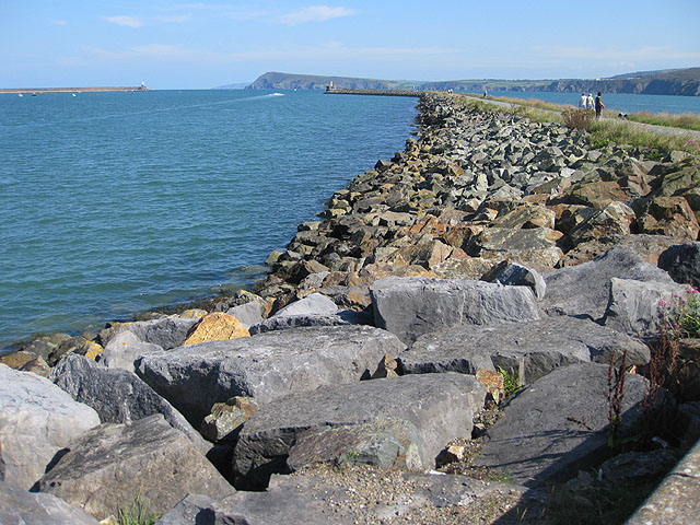 West end of the East Breakwater