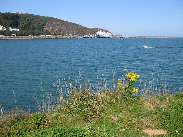 Ferry and rail terminus, Fishguard