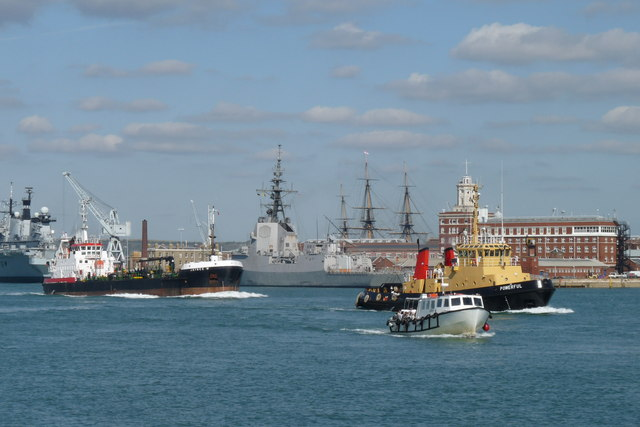 Busy Time in Portsmouth Harbour