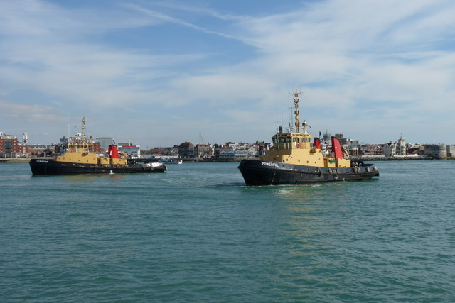 Tugs in Waiting