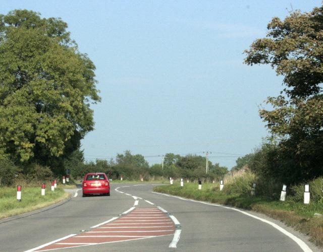 2009 : B4465 Looking toward Westerleigh crossroads