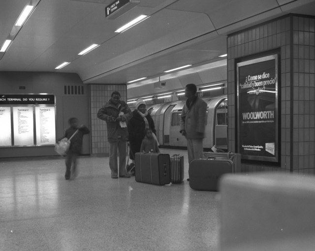 Heathrow Central tube station