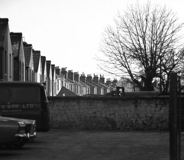 House backs, Oval Road, Croydon