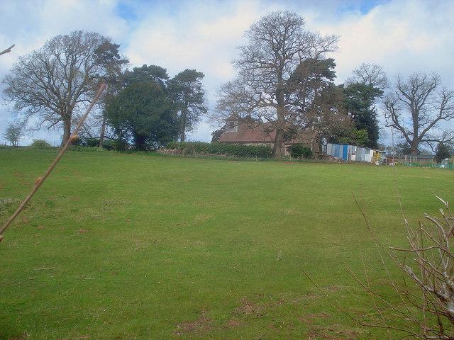 Meadow near Hatfield Church