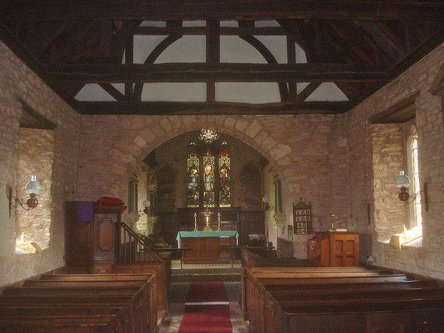 Interior of St Leonard's - 1