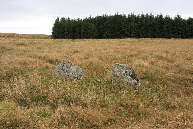 Boundary stone on Stonetor Hill