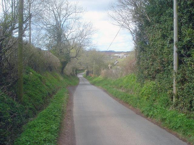 Lane through Hatfield