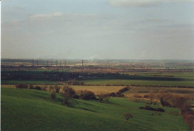 Greensand ridge escarpment at Houghton Conquest, Bedfordshire