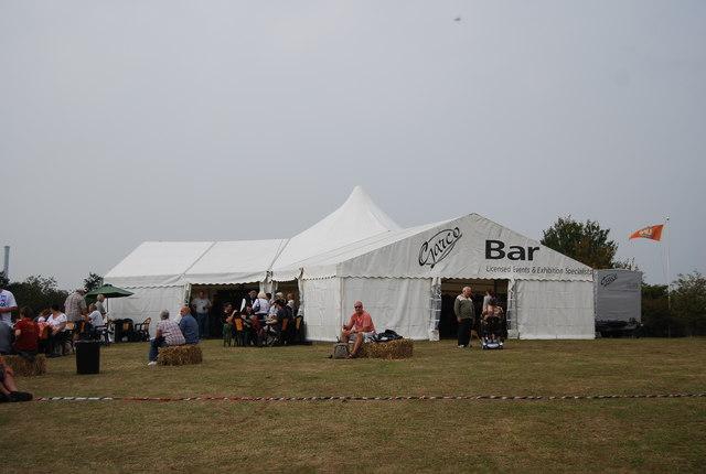 Beer tent, Maidstone Beer Festival 2009, Museum of Kent Life