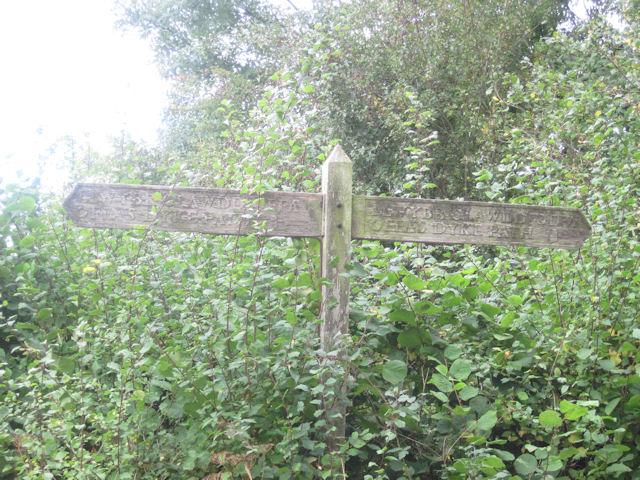 Offa's Dyke path sign