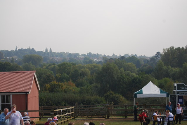 View across the river to Allington