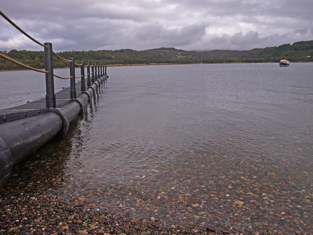 Floating Jetty, Eriska