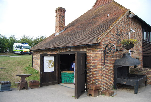 Museum of Kent Life - the old smithy