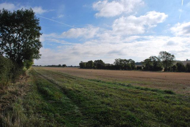 Footpath North of Kettledean Farm