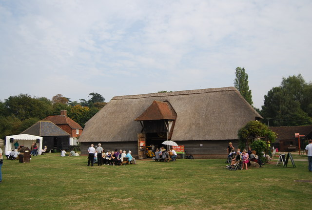 Museum of Kent Life - the thatched barn