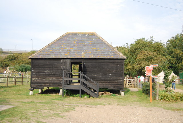 Museum of Kent Life - barn