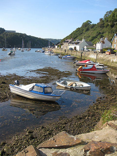 Ebbing tide, Lower Town