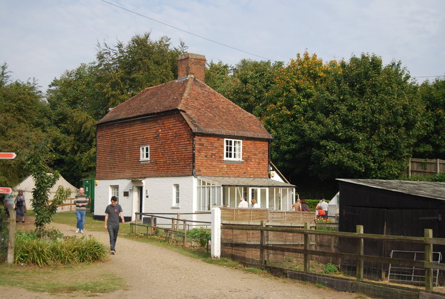 Museum of Kent Life - farmhouse