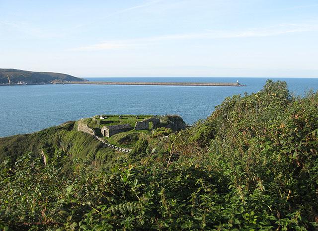 Ruins of Fishguard Fort