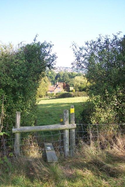 Stile near Paine's Farm House