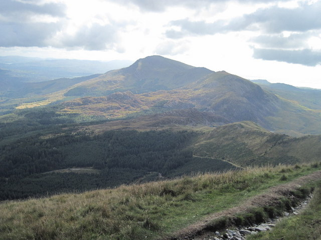 Looking towards Moel Hebog