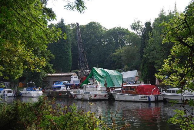 Boat repair Yard, River Medway