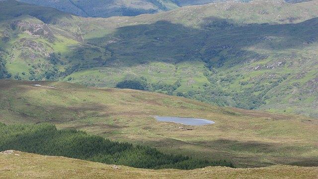Lochan above Gleann Sleibhtecoire
