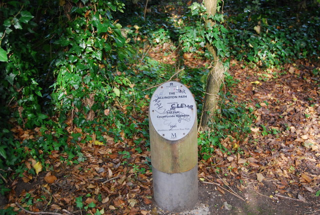Allington Path sign